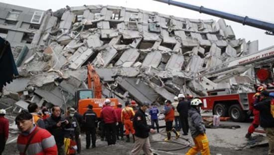 4 người Việt mắc kẹt trong vụ động đất Đài Loan - ảnh 1