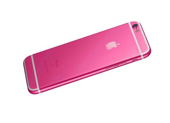 iPhone 5SE có bản màu hồng thay cho màu vàng - ảnh 1