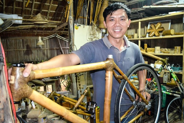 Xe đạp tre Việt: Hàng hiệu 100 triệu của tay chơi EU - ảnh 6