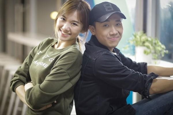 Trấn Thành lên tiếng minh oan nụ hôn với Hari Won - ảnh 1