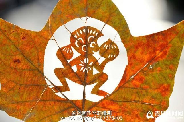 Chiêm ngưỡng tạo hình độc đáo của những chú khỉ trên lá cây - ảnh 1