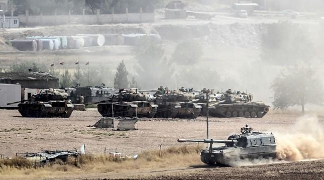 'Thổ Nhĩ Kỳ khiêu khích quân sự đe dọa lệnh ngừng bắn ở Syria' - ảnh 1
