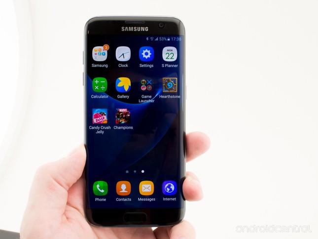 Galaxy S7/S7 Edge sẽ 'copy' giao diện của iPhone - ảnh 1
