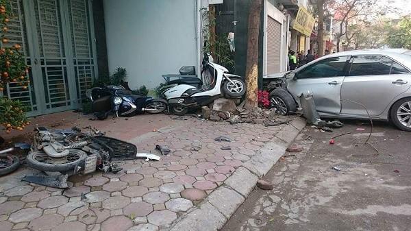 Hé lộ thông tin về chủ xe Camry tông chết 3 người ở Hà Nội - ảnh 1