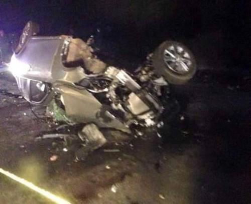 Tai nạn thảm khốc trên quốc lộ: 2 xe đâm nhau 4 người chết - ảnh 1