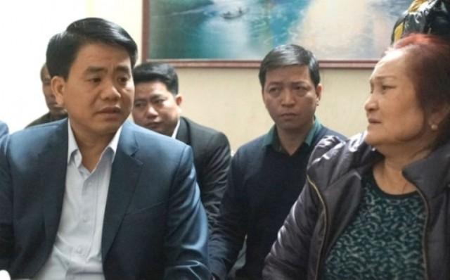 Chủ tịch HN thăm gia đình nạn nhân vụ xe Camry đâm chết 3 người - ảnh 1