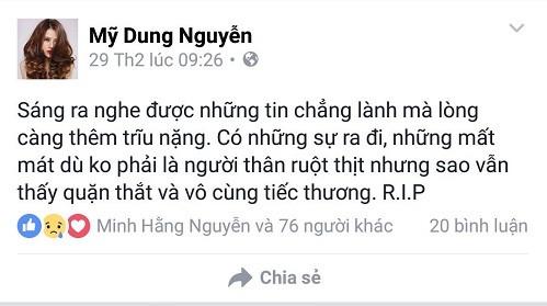 Nghệ sĩ Việt tiếc thương nhạc sĩ Lương Minh - ảnh 4