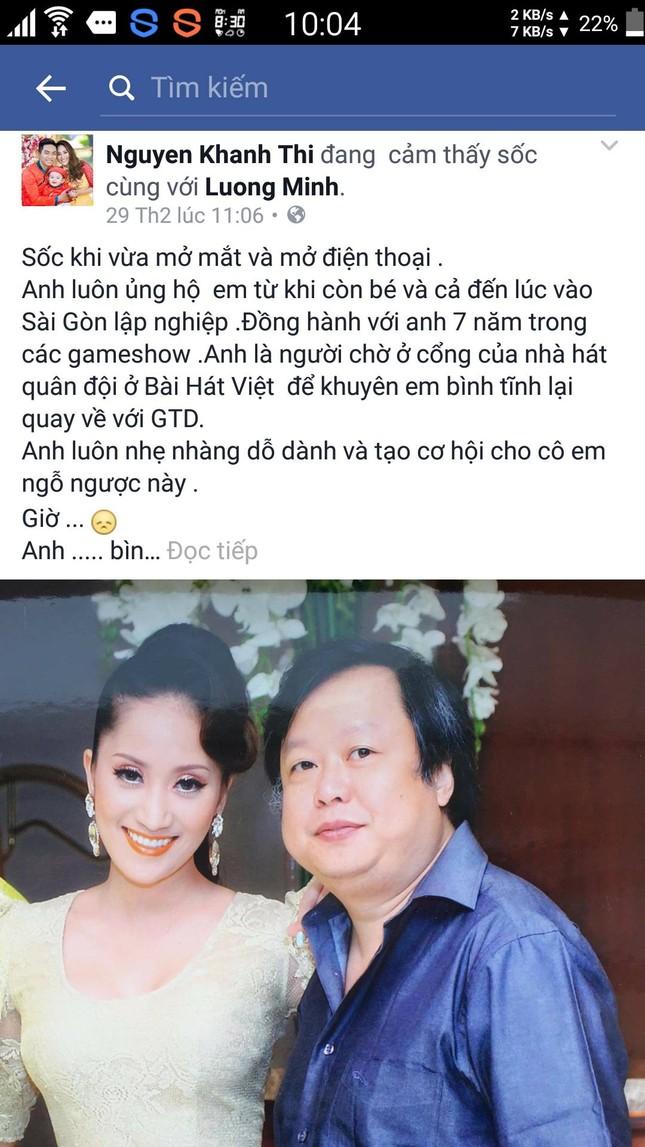 Nghệ sĩ Việt tiếc thương nhạc sĩ Lương Minh - ảnh 7