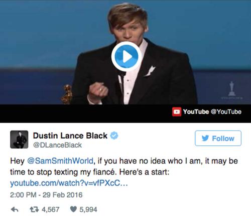 Sam Smith bị tung bằng chứng 'bóc mẽ' giới tính sau Oscar 2016 - ảnh 4