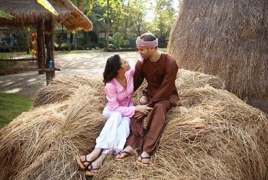 Ngắm ảnh cưới cực chất của 'cô gái xấu xí' Xuân Thùy và chồng Tây - ảnh 3