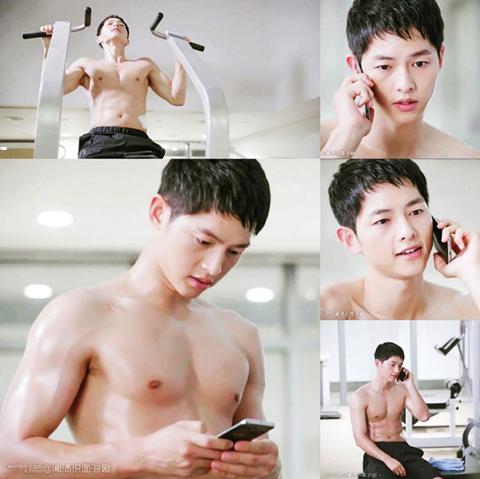 Bất  ngờ với điều ít ai biết về Song Joong Ki 'Hậu duệ mặt trời' - ảnh 3