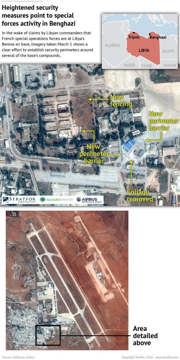 Ảnh vệ tinh tiết lộ đặc nhiệm Pháp chiến đấu chống IS ở Libya - ảnh 2