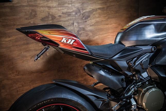 KH9 Ducati Panigale 1199S: Không chỉ là xe mà còn là nghệ thuật - ảnh 6