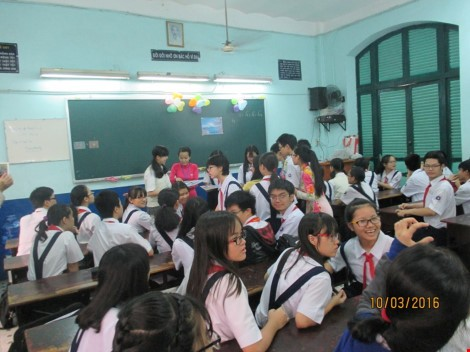 Học sinh Nhật qua Việt Nam để được... ngủ trưa - ảnh 1