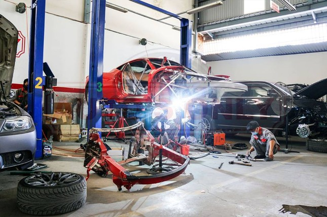 Đại gia Sài thành chi 2 tỷ mua phụ tùng sửa Ferrari 458 Italia - ảnh 5