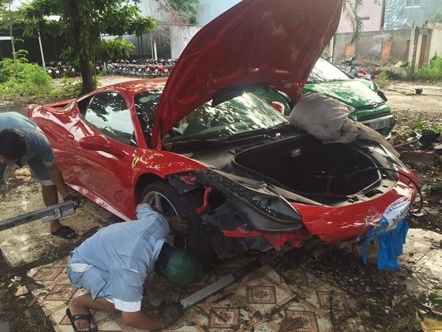 Đại gia Sài thành chi 2 tỷ mua phụ tùng sửa Ferrari 458 Italia - ảnh 6