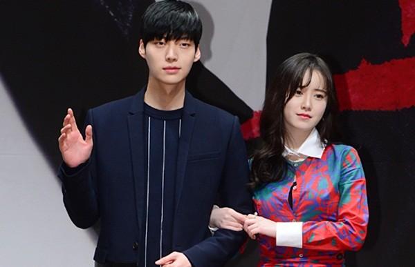 Hình ảnh mỹ nhân Goo Hye Sun hẹn hò với đàn em Ahn Jae Hyun - ảnh 1