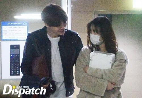 Hình ảnh mỹ nhân Goo Hye Sun hẹn hò với đàn em Ahn Jae Hyun - ảnh 2