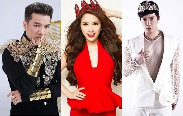 Mr Đàm, Hà Hồ, Quang Vinh và các thành viên của 'hoàng tộc Vpop' - ảnh 1