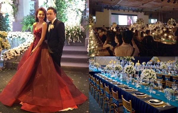 Toàn cảnh 'đám cưới ngàn sao' của Đinh Ngọc Diệp - Victor Vũ - ảnh 1