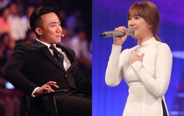 Clip: Trấn Thành vẫn đăm chiêu lắng nghe dù Hari Won hát thảm họa - ảnh 1