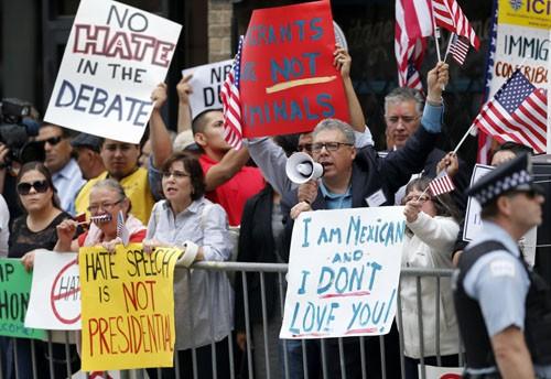 Donald Trump: 'Tôi hoàn toàn không kích động biểu tình' - ảnh 1