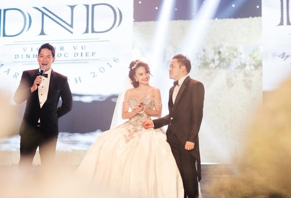Đám cưới Victor Vũ - Đinh Ngọc Diệp tốn chục tỷ để tạo đẳng cấp? - ảnh 6