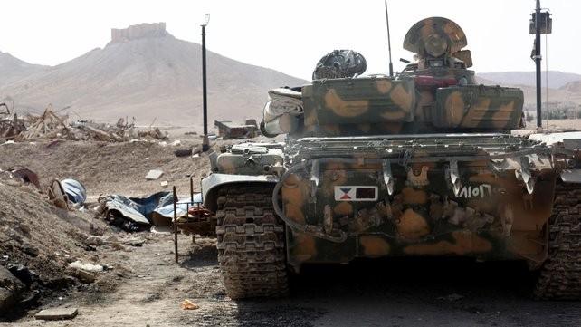 Tình hình Syria: Giao tranh ác liệt nhằm tái chiếm Palmyra - ảnh 1