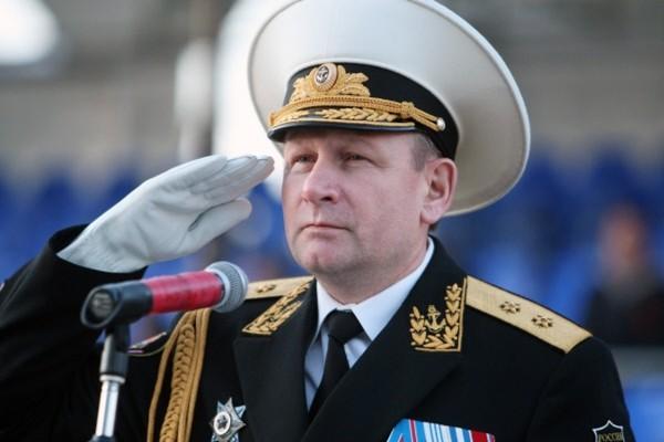Tư lệnh Hải quân Nga Viktor Chirkov đệ đơn từ chức - ảnh 1