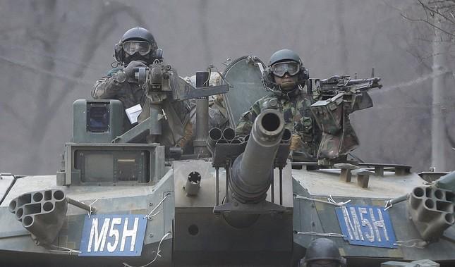 Hình ảnh Mỹ - Hàn tập trận khiến Kim Jong Un 'nóng mắt' - ảnh 4