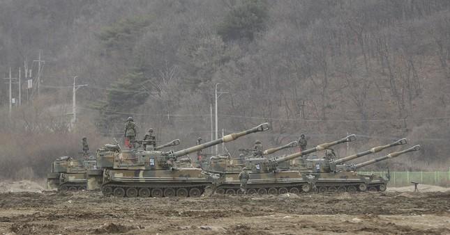 Hình ảnh Mỹ - Hàn tập trận khiến Kim Jong Un 'nóng mắt' - ảnh 5