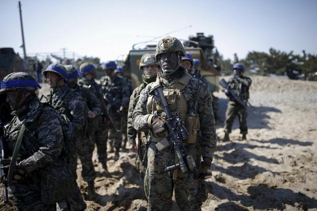 Hình ảnh Mỹ - Hàn tập trận khiến Kim Jong Un 'nóng mắt' - ảnh 6