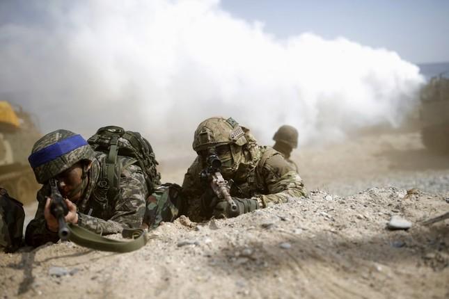 Hình ảnh Mỹ - Hàn tập trận khiến Kim Jong Un 'nóng mắt' - ảnh 15