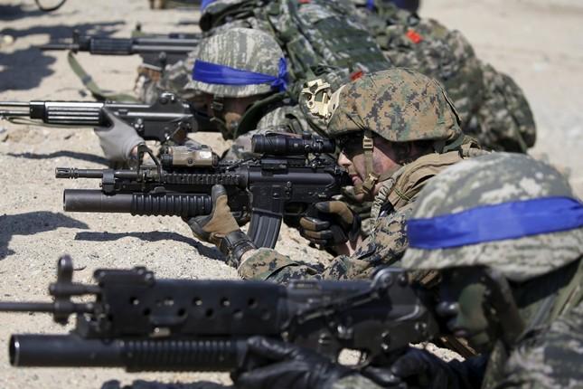 Hình ảnh Mỹ - Hàn tập trận khiến Kim Jong Un 'nóng mắt' - ảnh 17