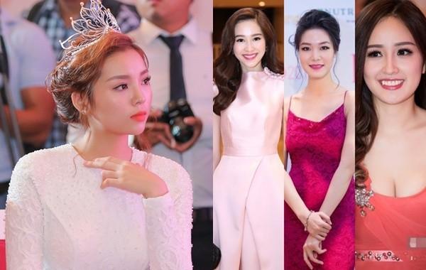Dàn Hoa hậu đổ bộ trong họp báo tìm người 'thế chân' Kỳ Duyên - ảnh 1