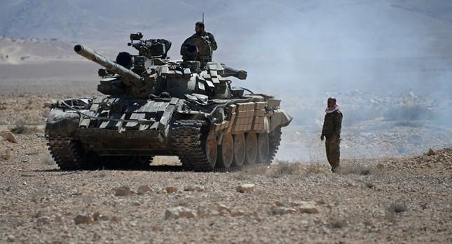 Tình hình Syria: Quân Assad hủy diệt khủng bố IS ở Deir ez-Zor - ảnh 1