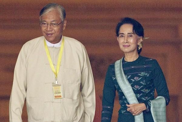 Thực hư tin tân Tổng thống Myanmar là tài xế của bà Suu Kyi - ảnh 1
