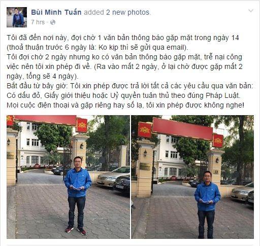 Chưa xong vụ VTV, Bùi Minh Tuấn tiếp tục kiện VTC News - ảnh 2