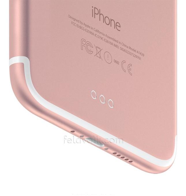 Rò rỉ hình ảnh thật của iPhone 7 Plus với camera kép 'siêu lồi' - ảnh 3