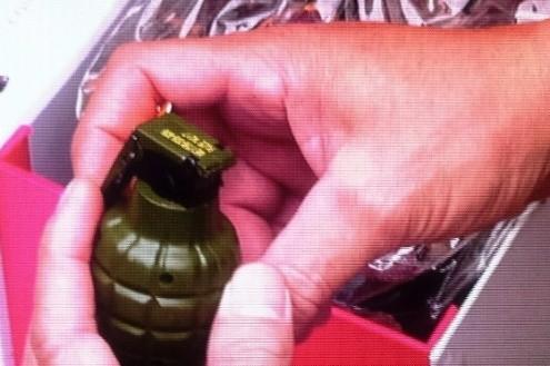 Phát hiện vật thể nghi là lựu đạn tại sân bay Phú Bài - ảnh 1