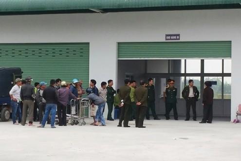 Phát hiện vật thể nghi là lựu đạn tại sân bay Phú Bài - ảnh 2