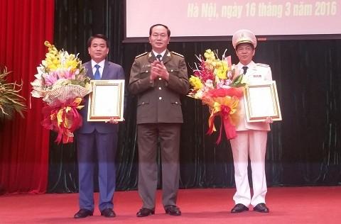 Tân Giám đốc Công an Hà Nội phát biểu gì trong ngày nhậm chức? - ảnh 1