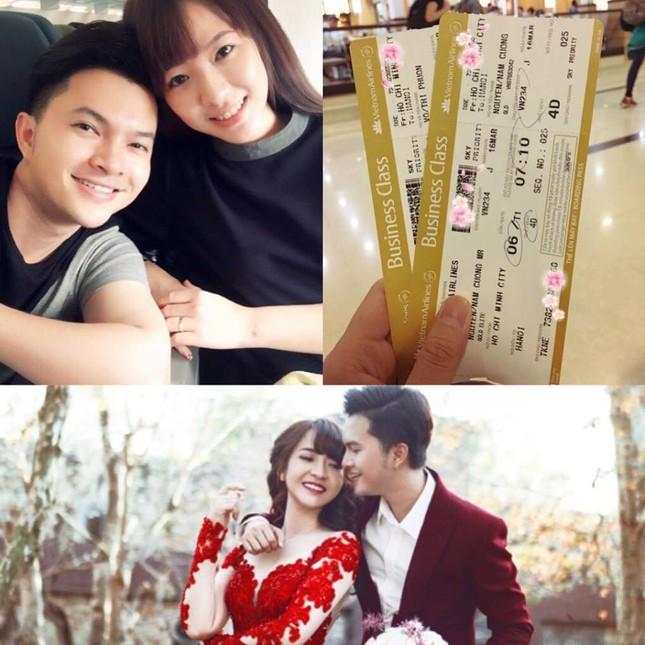 Hậu đám cưới, Nam Cường chia sẻ 'chuyến bay đầu tiên' cùng vợ 9X - ảnh 2