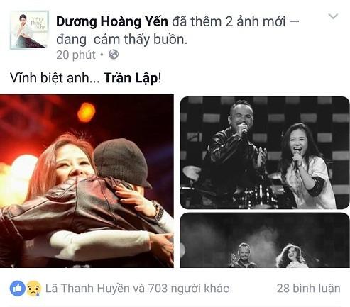 Cả showbiz Việt bàng hoàng, xót xa trước tin tức Trần Lập qua đời - ảnh 11