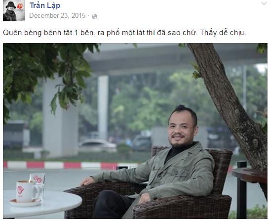 Nhìn lại nụ cười Trần Lập trong chặng đường 'chiến đấu' ung thư - ảnh 8