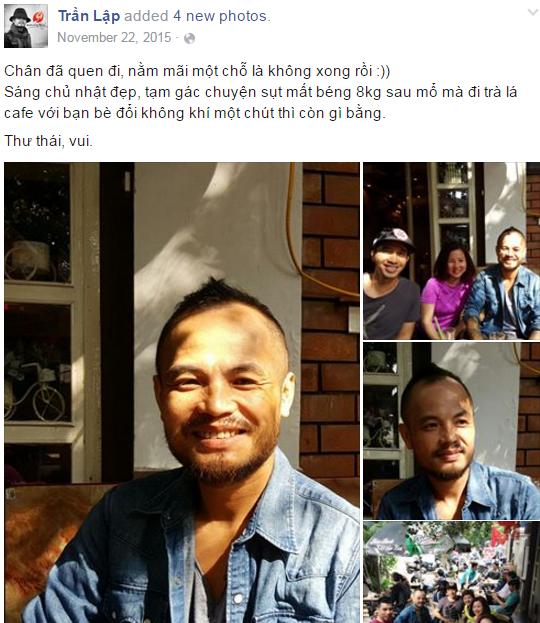 Nhìn lại nụ cười Trần Lập trong chặng đường 'chiến đấu' ung thư - ảnh 6