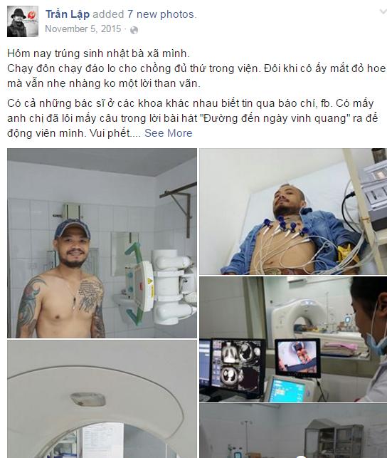 Nhìn lại nụ cười Trần Lập trong chặng đường 'chiến đấu' ung thư - ảnh 3