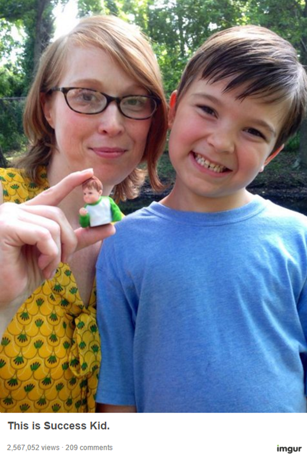 Cậu bé Success Kid nổi tiếng lại gây sốt cư dân mạng - ảnh 3