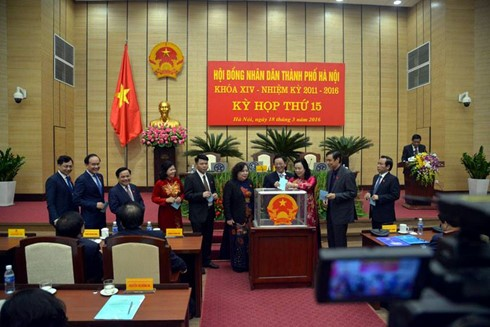 Hà Nội bầu 3 Phó Chủ tịch UBND Thành phố - ảnh 2