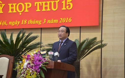 Hà Nội bầu 3 Phó Chủ tịch UBND Thành phố - ảnh 1